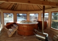 Jacuzzi - ruska bania z masażem wodnym