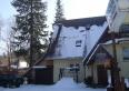 dom w zimie