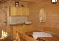 Aneks kuchenny w domku z bali