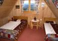 Sypialnia w domku Płazówka