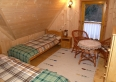 Sypialnia w domku Kojsówka