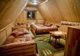 sypialnia - domek całoroczny z drewna