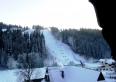 widok z okna na stacjÄ™ narciarskÄ… SUCHE