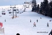 Idealne warunki narciarskie na Podtatrzu